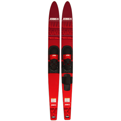allegre combo waterskis rood 59 inch