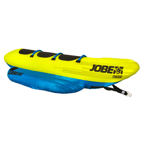Jobe chaser drie persoons funtube blauw geel