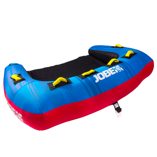 Jobe tribal 3 persoons funtube blauw rood