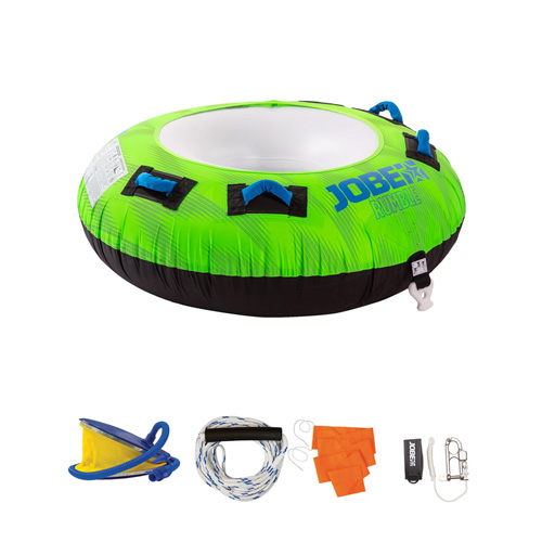 Jobe Rumble funtube Package 1 persoons groen