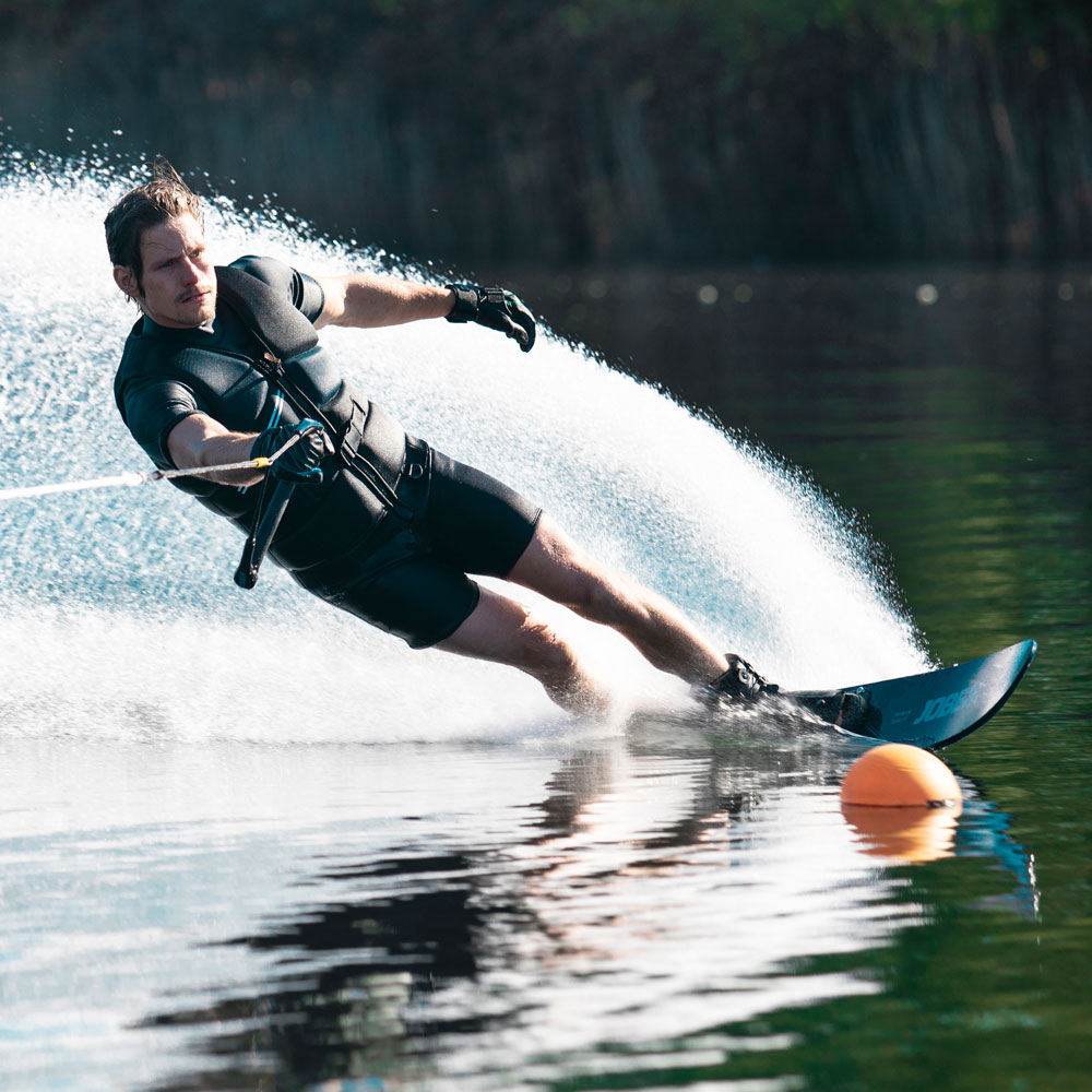 Jobe Encore Slalom waterskipakket 170cm met Rogue rechts waterskibinding