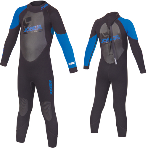 Jobe progress rebel lange kinderwetsuit 3 2 5 blauw