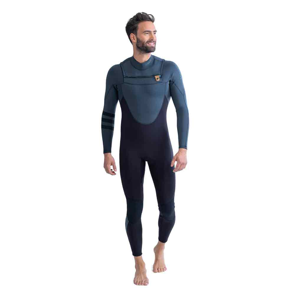 Jobe Perth Fullsuit Chestzip 3|2MM wetsuit heren grijs