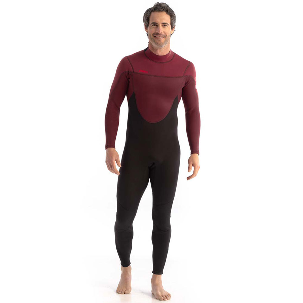 Perth 3/2mm Wetsuit heren rood