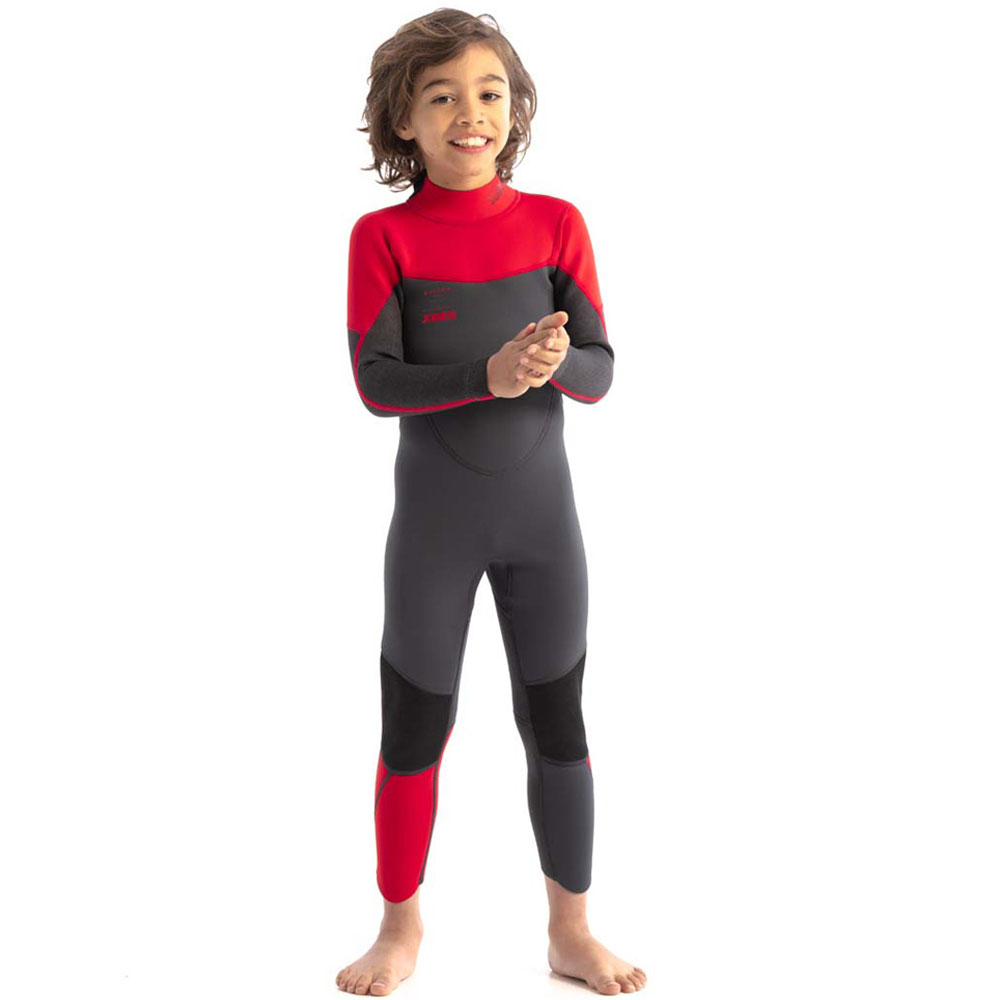 Boston 3/2mm Wetsuit kind rood