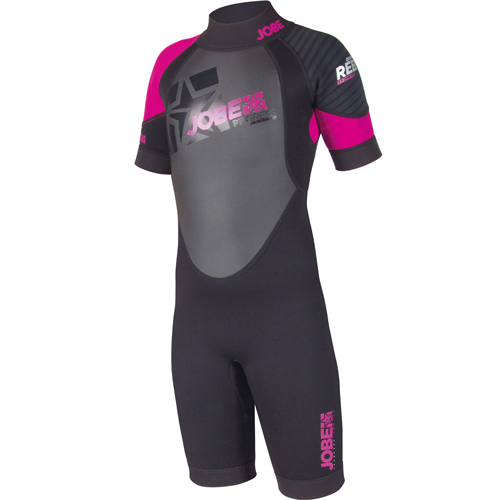Jobe Progress Rebel Shorty 2.5 / 2.0 roze shorty kind wetsuit