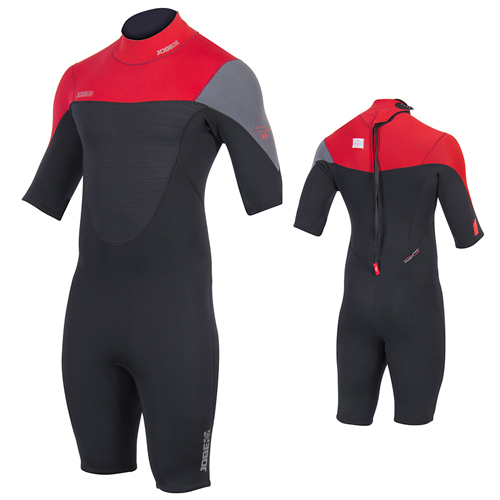 Jobe Perth 3/2 rood heren wetsuit shorty