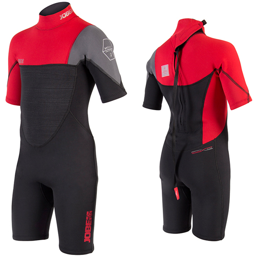 Jobe Boston shorty kind wetsuit 3/2 rood