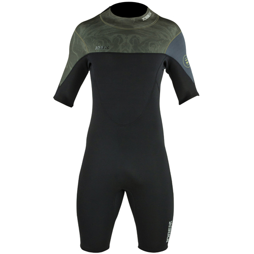Jobe perth shorty wetsuit heren 3|2mm army green