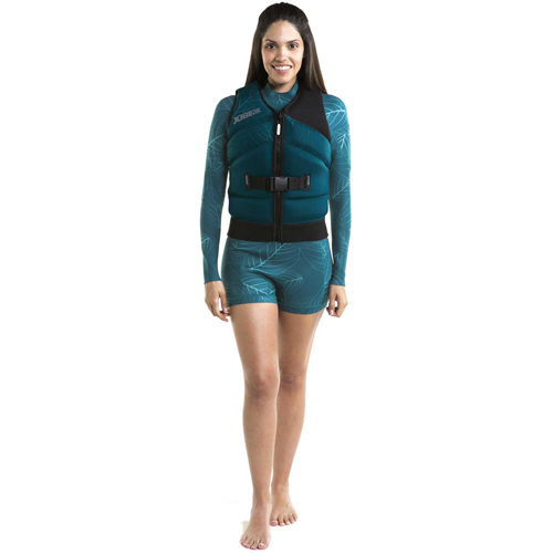 Jobe Sofia shorty 3/2mm Longsleeve wetsuit dames dark teal