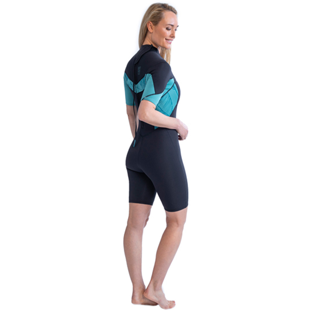 Jobe Sofia Shorty 3|2MM Vintage Teal wetsuit dames