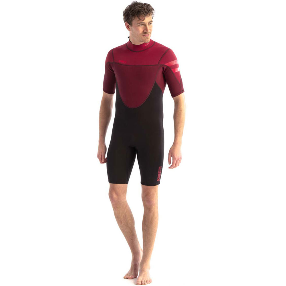 Jobe Perth 3/2mm Shorty Wetsuit heren rood