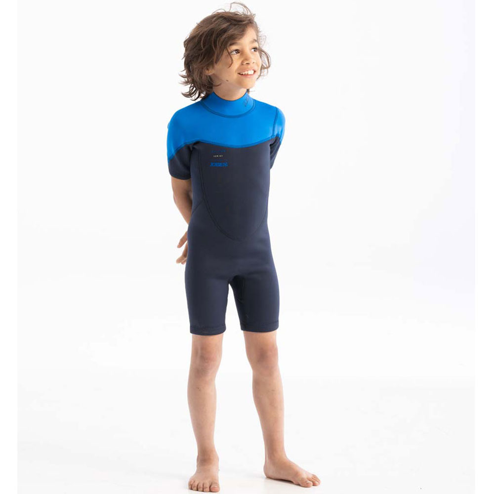 Boston 2mm Shorty Wetsuit kind blauw