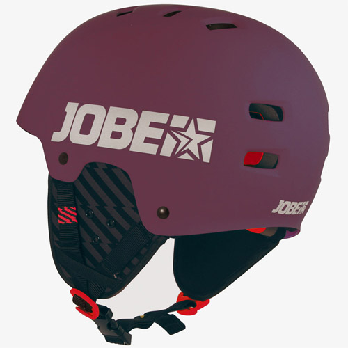Jobe base watersporthelm bordeaux rood