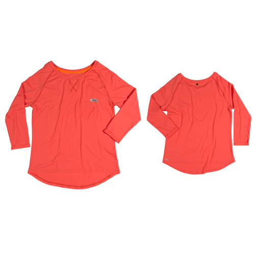 Jobe Discover LooseFisup t-shirt dames Coral
