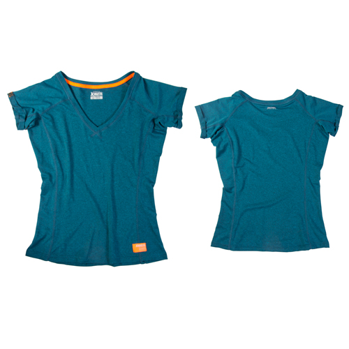 Discover sup t-shirt dames Teal