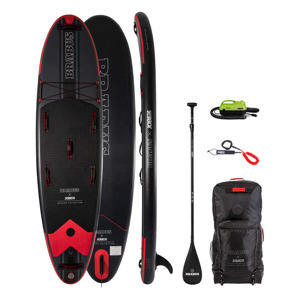 Jobe x Brabus shadow 10.6 limited edition opblaasbaar sup board pakket