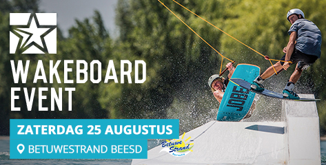Wakeboard event 2017 beesd